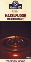 Sugarless Co Hazelfudge Chocolate 100g