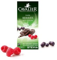 Cavalier Dark Chocolate Berries 85g Past Best Before Aug 17