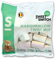 Sweet Switch Marshmallow Twist Mix 70g Past Best Before 03/18