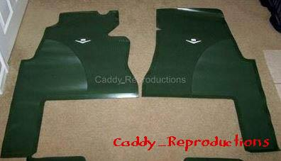 1959 1960 Cadillac Floor Mats 6 Colors