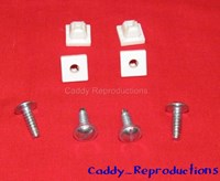 1940 - 1966 Cadillac License Plate Screws and Nuts