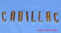 """1956 - 1957 Cadillac Trunk Letters """"Cadillac"""""""