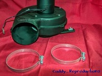 1940 - 1966 Cadillac Fresh Air Hose Clamps - 4""