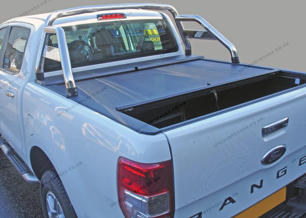 Roll N Lock Roller Shutter Tonneau Cover - Ford Ranger T6 Double Cab Up-Country 4x4 and Pick-Up