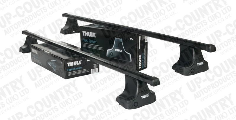 Thule Roof Bars Toyota Hilux 05 16 Pick Up Vehicle Cab