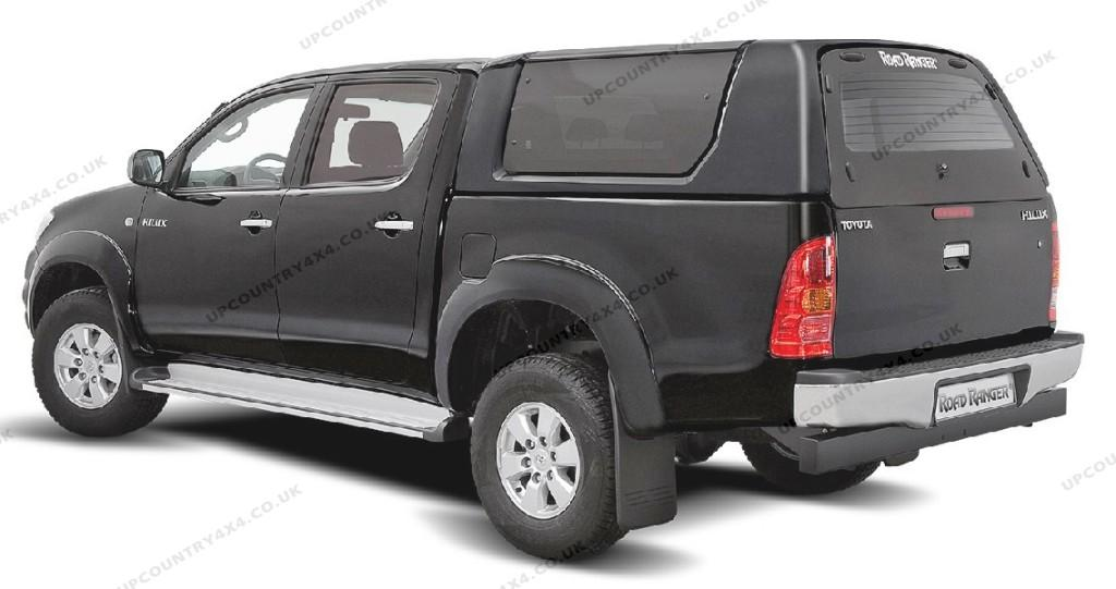 road ranger rh2 glazed remote hardtop toyota hilux. Black Bedroom Furniture Sets. Home Design Ideas