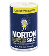 "SALT IODIZED ""MORTON"" 26 OZ"