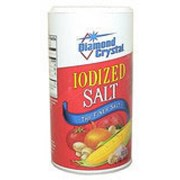 "SALT IODIZED ""DIAMOND CRYSTAL"" 22 OZ"