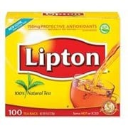 TEA BAG LIPTON 100 CT