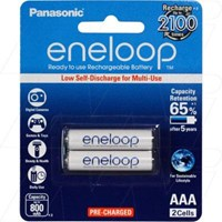 BK-4MCCE/2BA Eneloop rechargeable AAA battery 2 pack