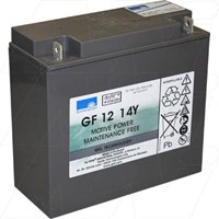 GF12014YF 12V 15Ah Sonnenschein Gel type Dedicated Cyclic SLA Battery
