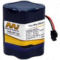 Uniden Replacement battery TWB-BP120
