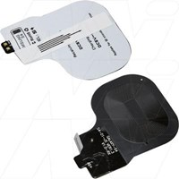 Qi charging receiver suitable for Samsung Galaxy S4, GT-i9500, GT-i9502, GT-i9505
