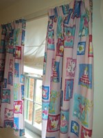 Princess design curtains