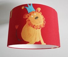 jungle fabric lampshade for ceiling or bedside lights