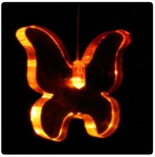 Butterfly mini led light changing mobile