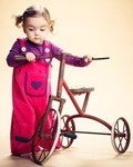 ON SALE AlbaBaby Baggy crawlers - pink velvet