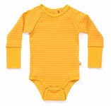 ON SALE AlbaBaby Dot bodysuit Yellow stripes