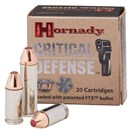 Hornady 44 Special 165gr FTX Crit Def - 20 Rds.