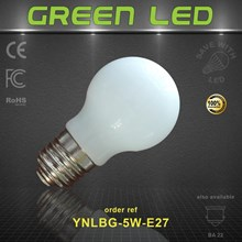 Energy Efficient 5 Watt LED Light Globe with E27 base