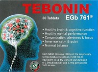 Tebonin EGb 761 Tablets 30