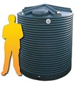 4500L Corrugated Poly Water Tank