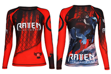 The Red Rashguard