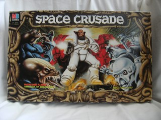 Vintage MB games Space Crusade