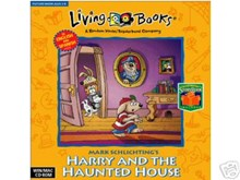 Living Book Harry and the Haunted House cd-rom (32-bit only)