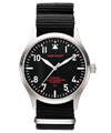 POP-PILOT® Classics 42mm<br/>JKF Edition Black Strap Watch