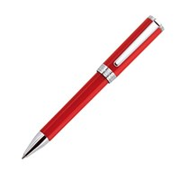 Aurora Tu Red Chrome Trim Ball Pen