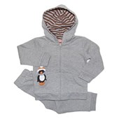 Bianca's Silver Cherub 2 Piece Fleece Suit - Baby Girls Clothes