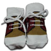 Khaki & Brown Baby Shoes/Socks- Babies Accessories