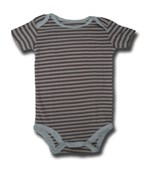 Chocolate Stripes Adam & Eve Baby Wear Tag Free Romper - Unisex Clothes