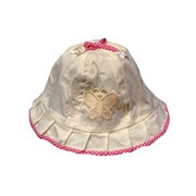 Butterfly in the Sky Baby Girls Sun Hat / Cap - Baby Clothes