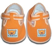 Orange Bear Prewalkers Shoes - Unisex Shoes