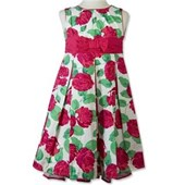 Floral Formal Party Dress - Girls Dresses