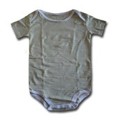 Lime Lines Adam & Eve Baby Wear Tag Free Romper - Baby Boys & Baby Girls Clothes