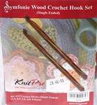 Symphony Wood Crochet Hook Set