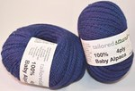 Tailored Strands 4 ply Royal Blue baby alpaca
