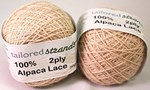 Tailored Strands 2 ply Alpaca Lace Champagne 189