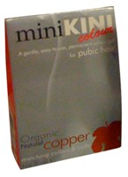 MiniKINI - Organic Colour For Pubic Hair - Natural Copper