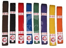 Coloured Belts - plain