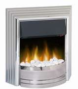 Dimplex Castillo freestanding fire with unique Optiflame® effect.