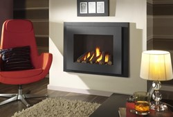 Crystal Manhattan Glass Fronted Gas Fire