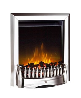 Dimplex Exbury inset electric fire with unique Optiflame® effect