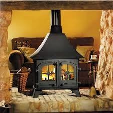 Yeoman County Double-sided, Double Depth Woodburning Stove