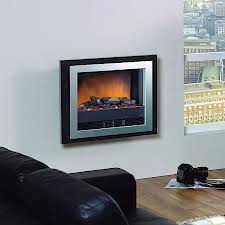 Dimplex Bizet hang on wall or recessed fire with unique Optiflame® effect