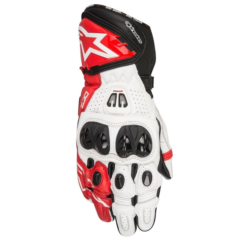 alpinestars gp pro r2 gloves black white red online motorcycle accessories australia scm. Black Bedroom Furniture Sets. Home Design Ideas