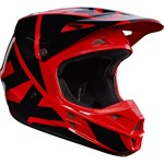 (CLEARANCE) FOX 2017 V1 RACE ECE HELMET - RED